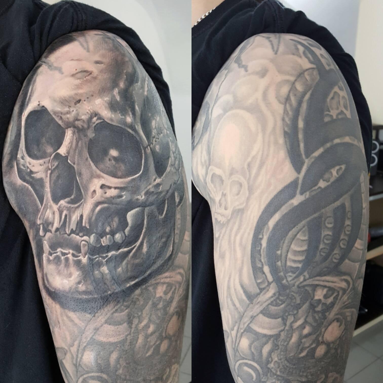 Coverup-Skull