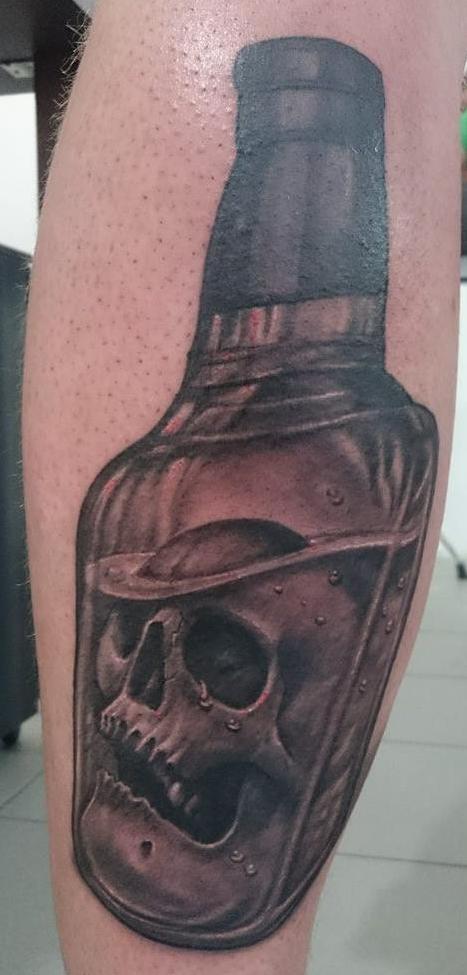 Whiskey-Skull